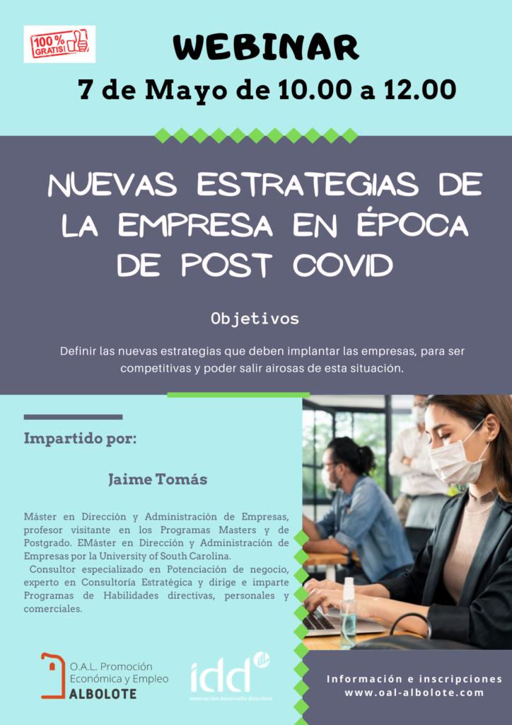 videoconferencia nuevas estrategias de empresa en época post covid