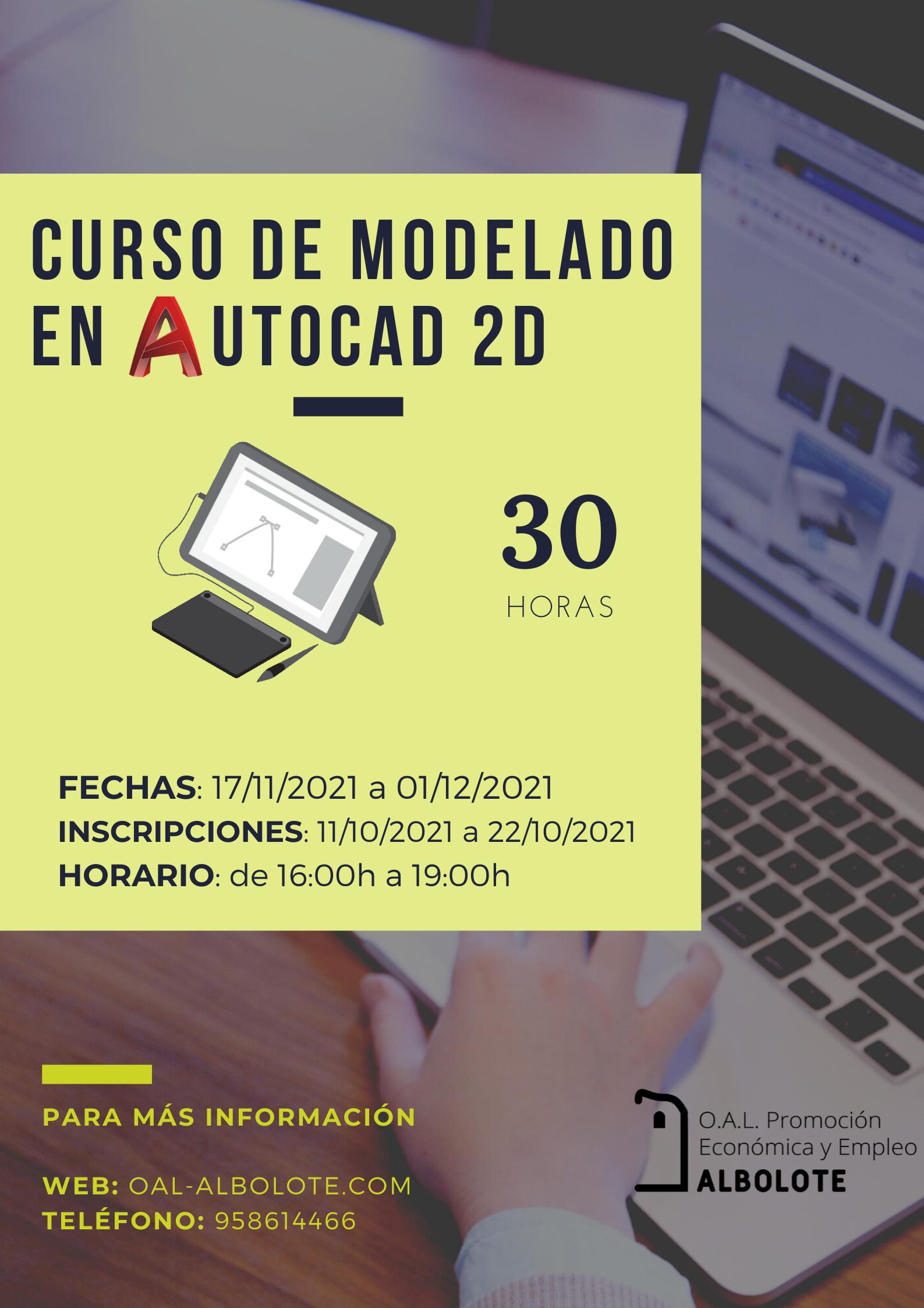 CURSO DE MODELADO EN AUTOCAD EN 2D